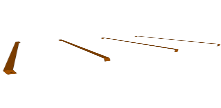 Grader Blade Rails - Four
