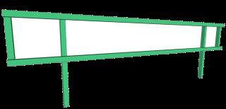 Creek Guard Side Rails for 8' - 10' Grids