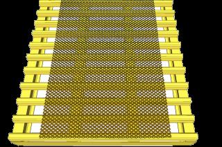 Expanded Metal Walkway