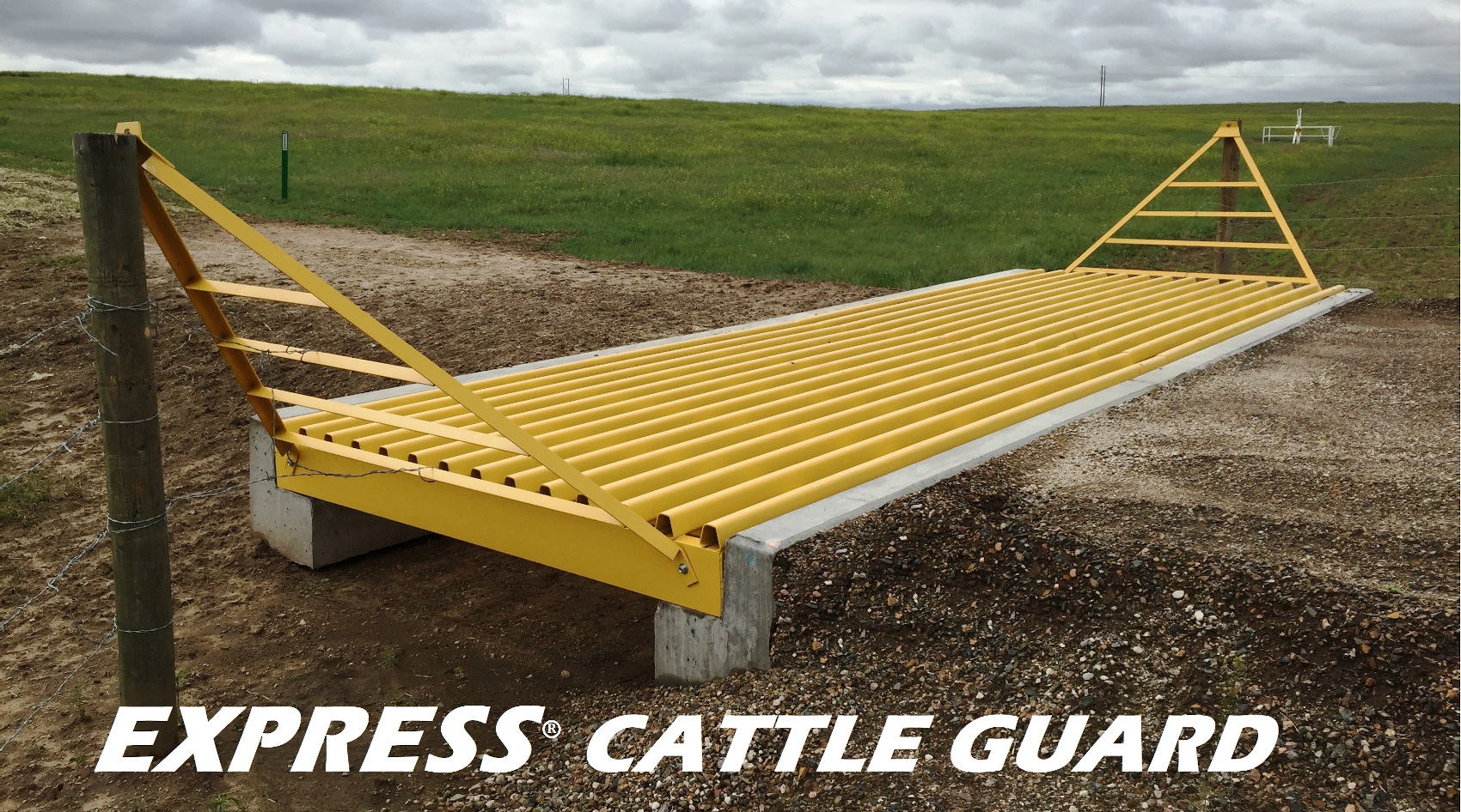 In Stock Cattle Guard